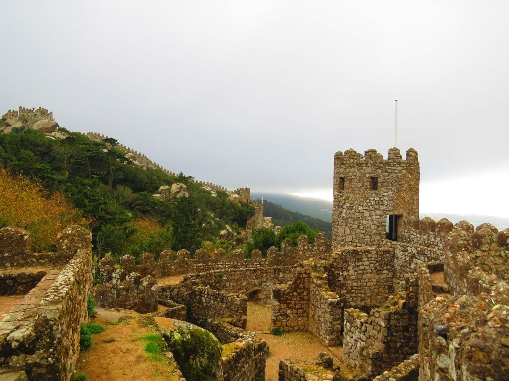 The amazing Sintra Castle