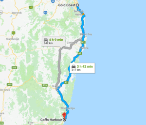 Australia Driving Map.Ultimate East Coast Of Australia Road Trip Guide Itinery Tips 2019