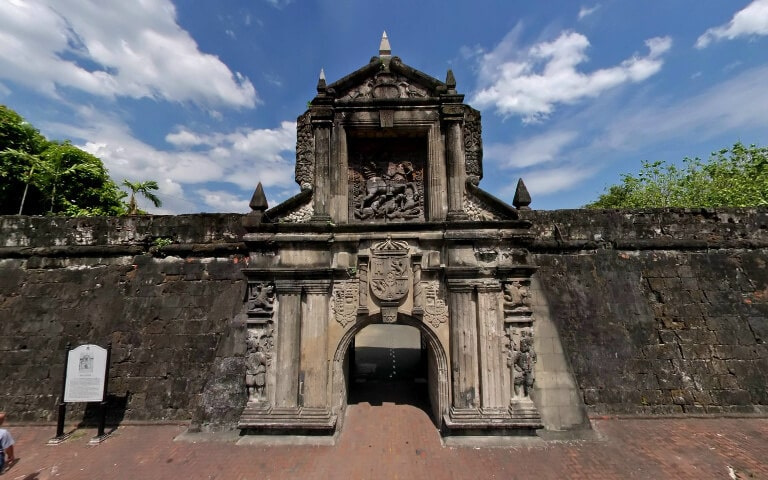 Intramuros Old City of Manila