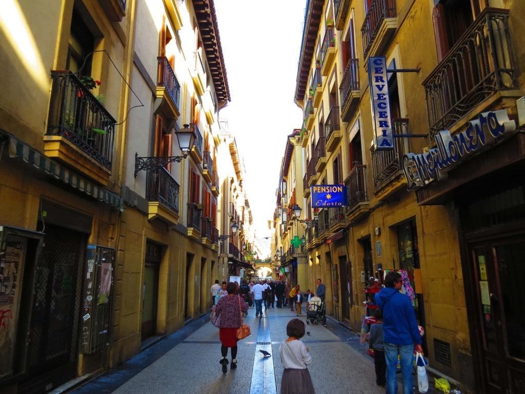 Third reason to visit San Sebastian the epic old town of San Sebastian