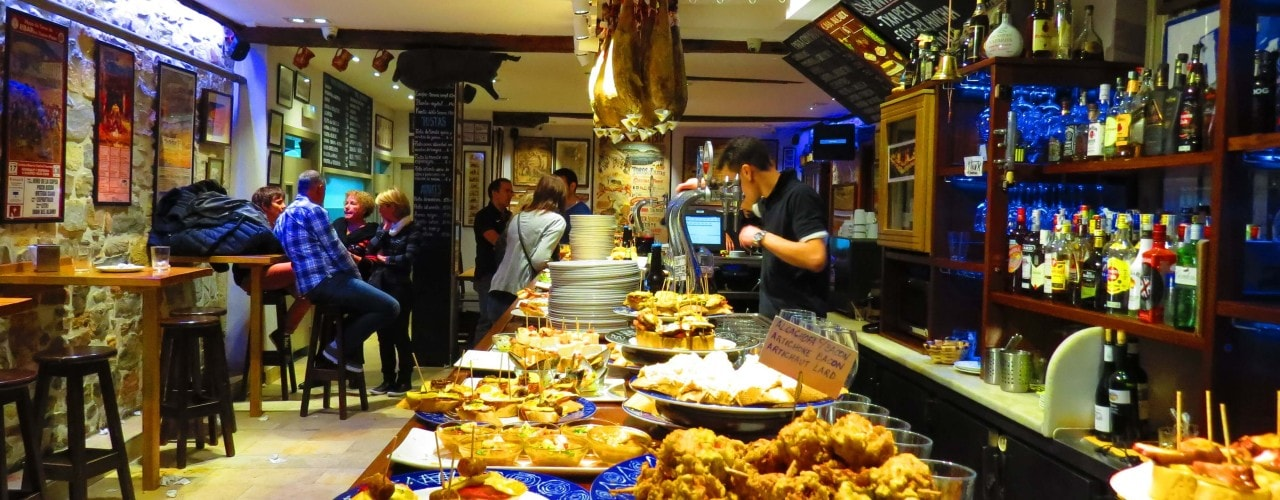 Best tapas in the city