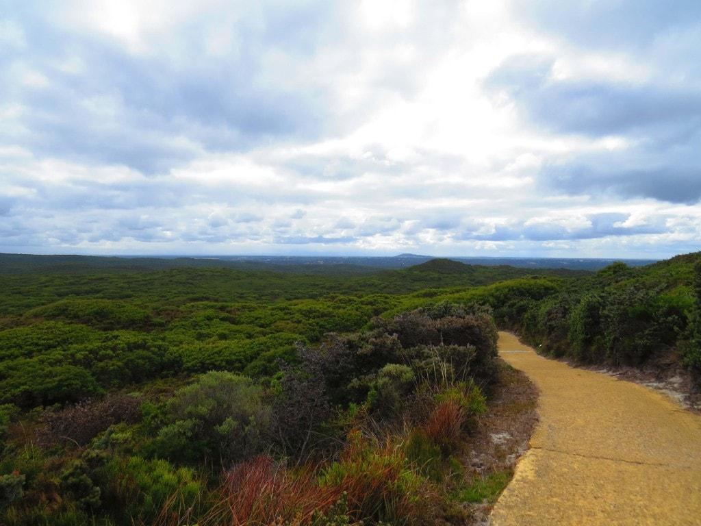 Wind Farm walks in Albany, Australia