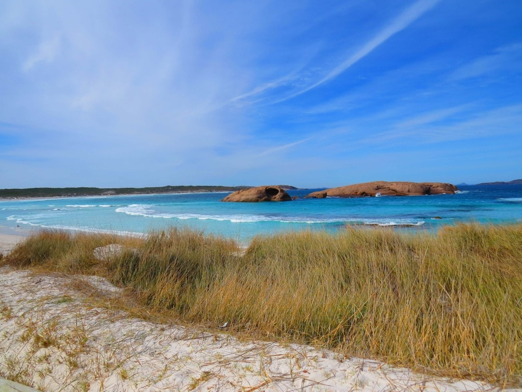 Twilight Beach in Esperance -perfect for relaxing day out- things to do on Perth to Melbourne road trip.