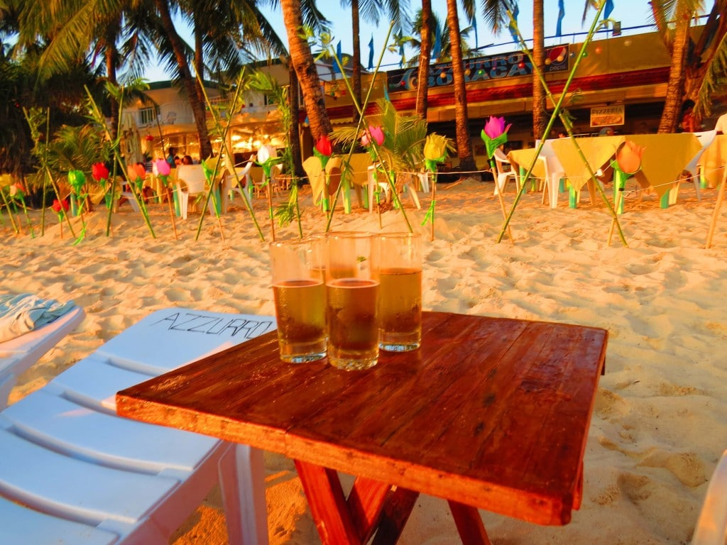 Boracay partying on a budget