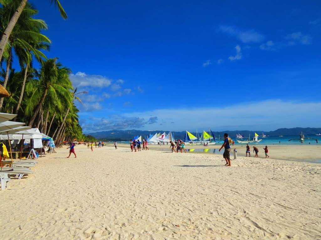 Island hopping Boracay Philippines