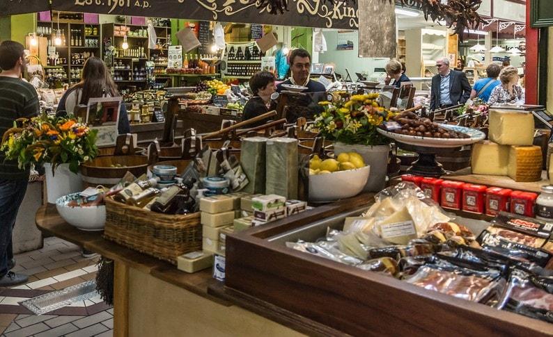 Local food at Cork English Market