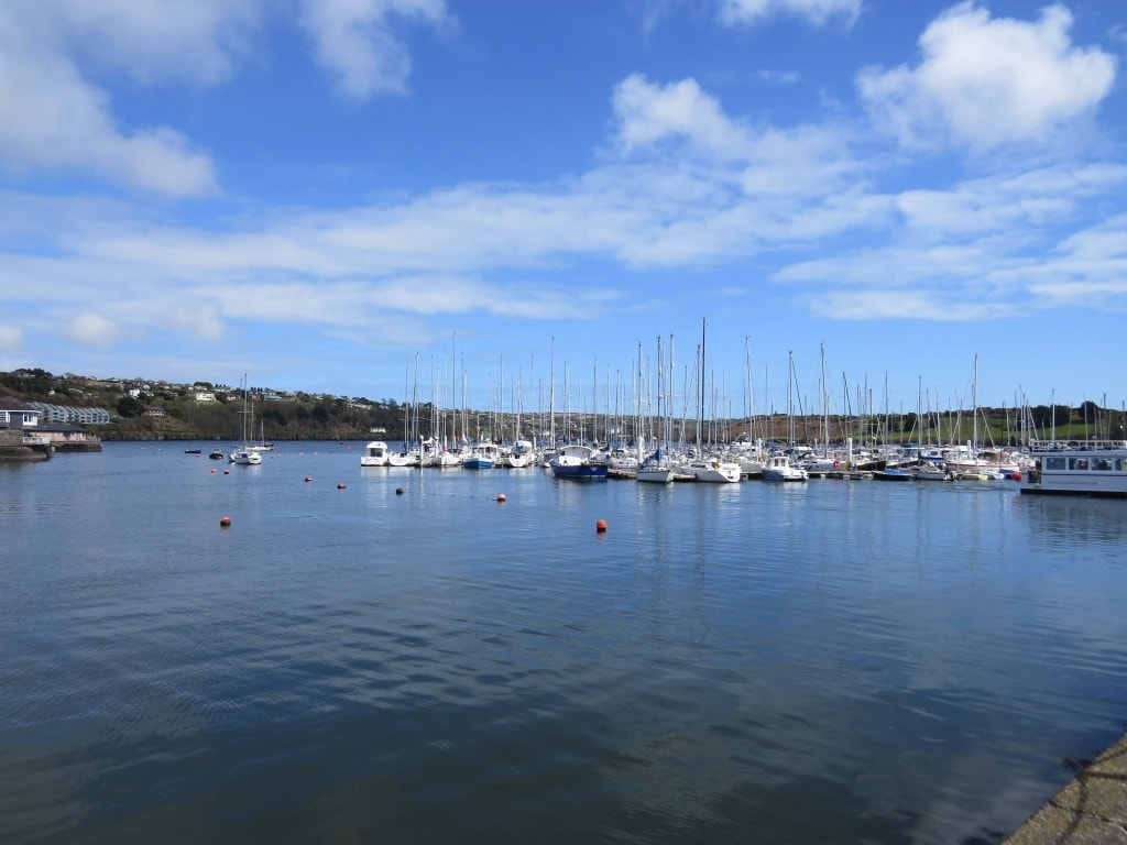 Kinsale Harbour in Ireland
