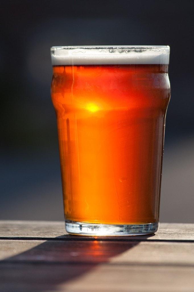 Localy produced ale in Cork Ireland