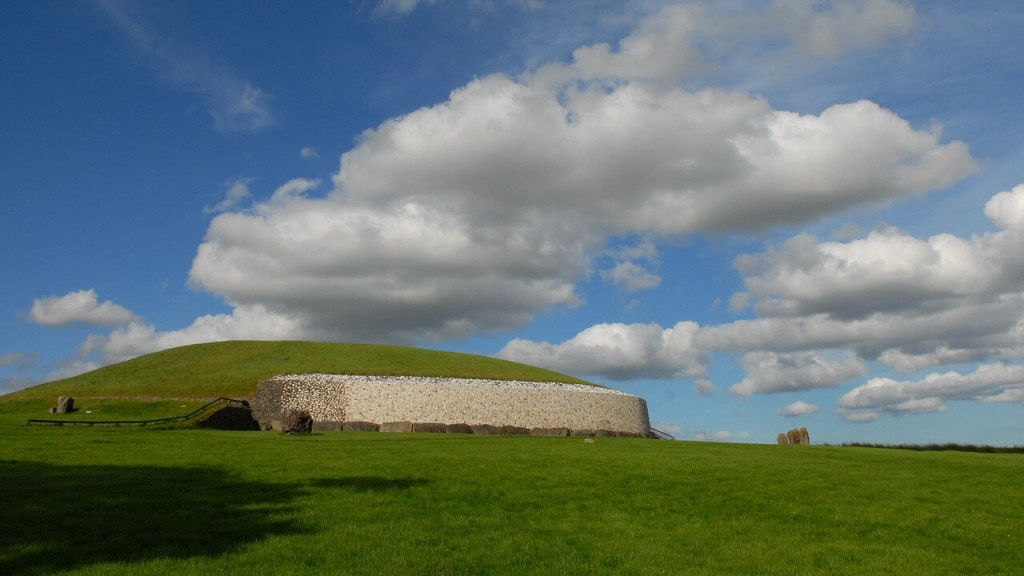 Discovering history at Newgrange