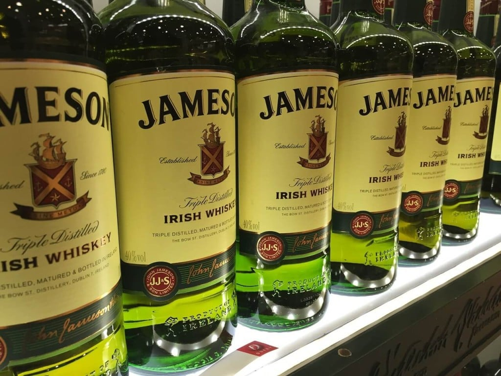 Taste Irish Whiskey at Jameson Experience Ireland