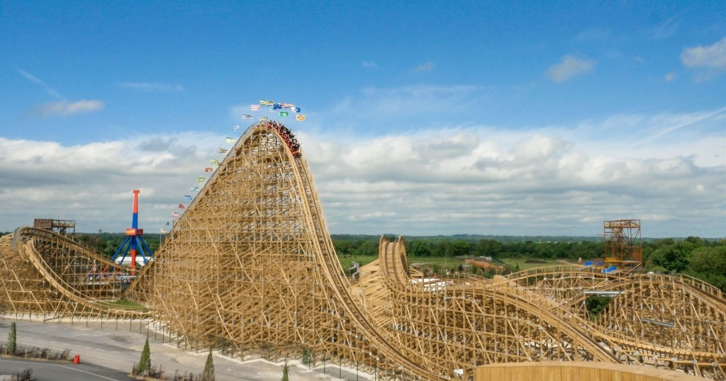 Fun for the entire family at Tayto Park near Dublin Ireland