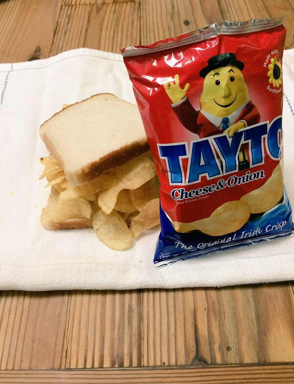 Ireland favourite Tayto Sandwich