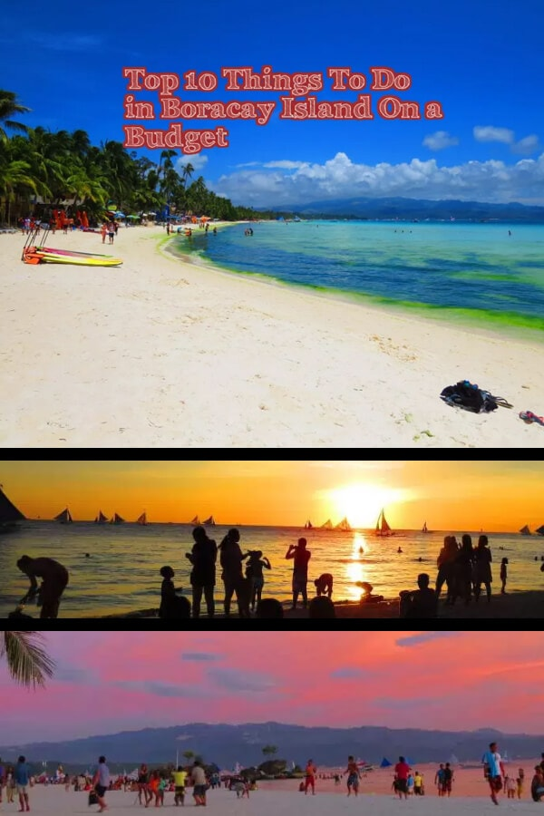 10 Things to do in Boracay on a budget