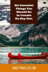 Things to do in Canada on day one. Bank account, SIM, SIN. Working Holiday In Canada.