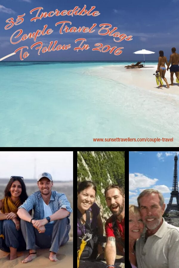 35 Incredible couple travel bloggers