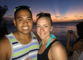 Couple travel bloggers - Fit Two Travel where travel and fitness collide