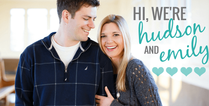 Couple travel bloggers - Hudson and Emily A Lifestyle Blog