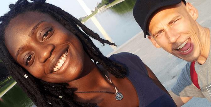 Couple travel bloggers Road Affair