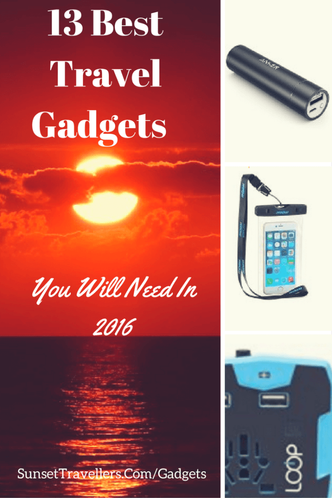 13 Best Travel Gadgets 2016 That Every Traveller Will Need - Sunsettravellers (1)