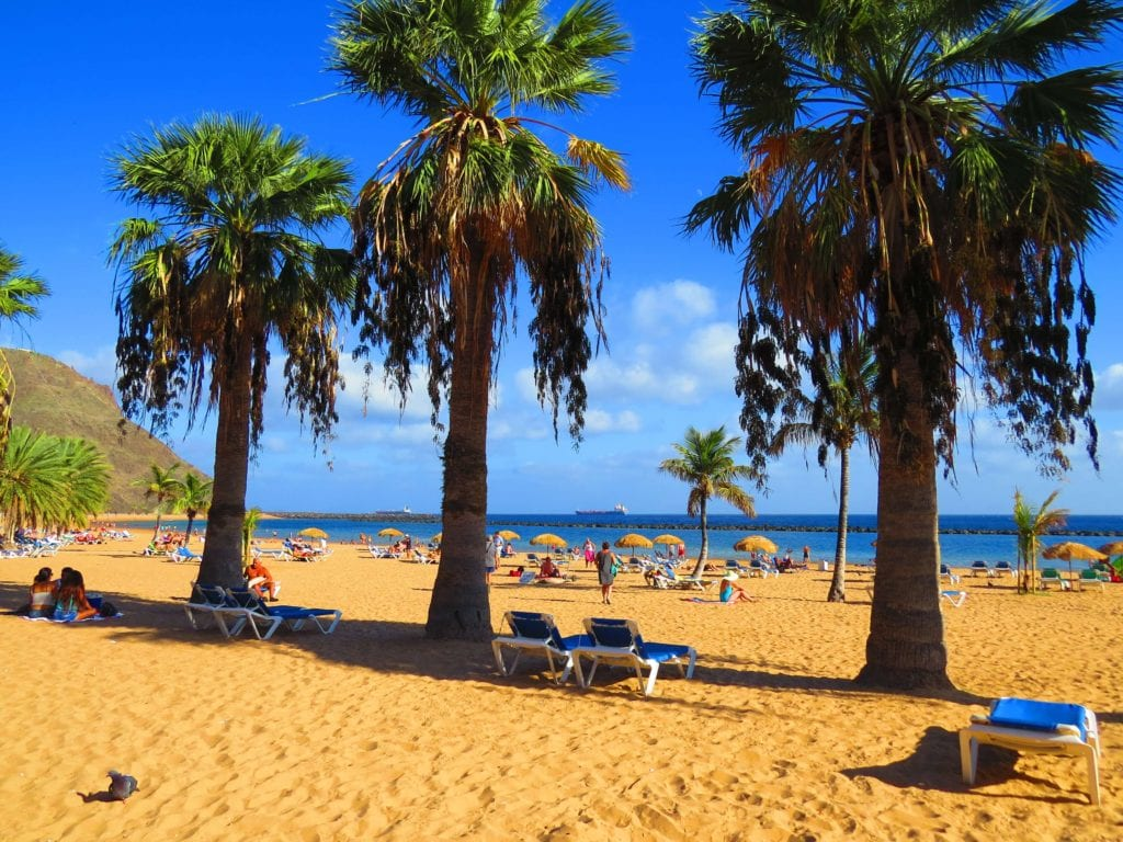 Best places and beaches in Tenerife Santa Cruz