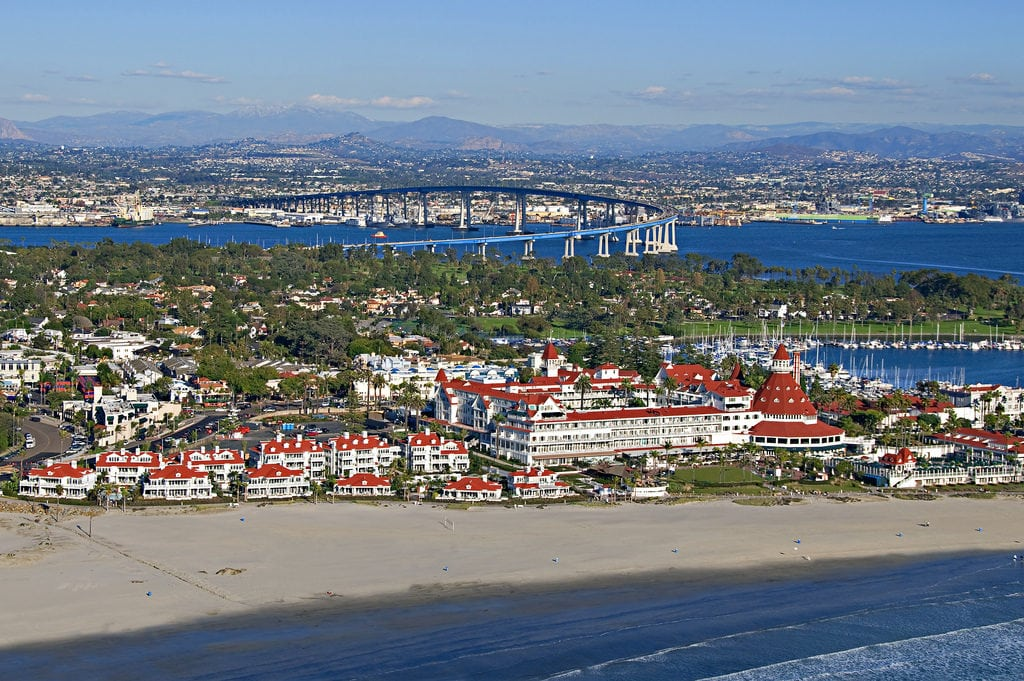 Coronado South beach best couple American Beaches