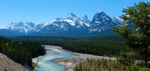 Canadian rockies road trip