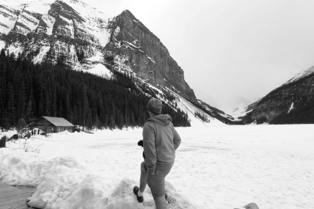 Canadian Rockies road trip at Lake Louise