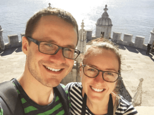 Along came an elephant - Incredible Couple Travel Bloggers To Follow