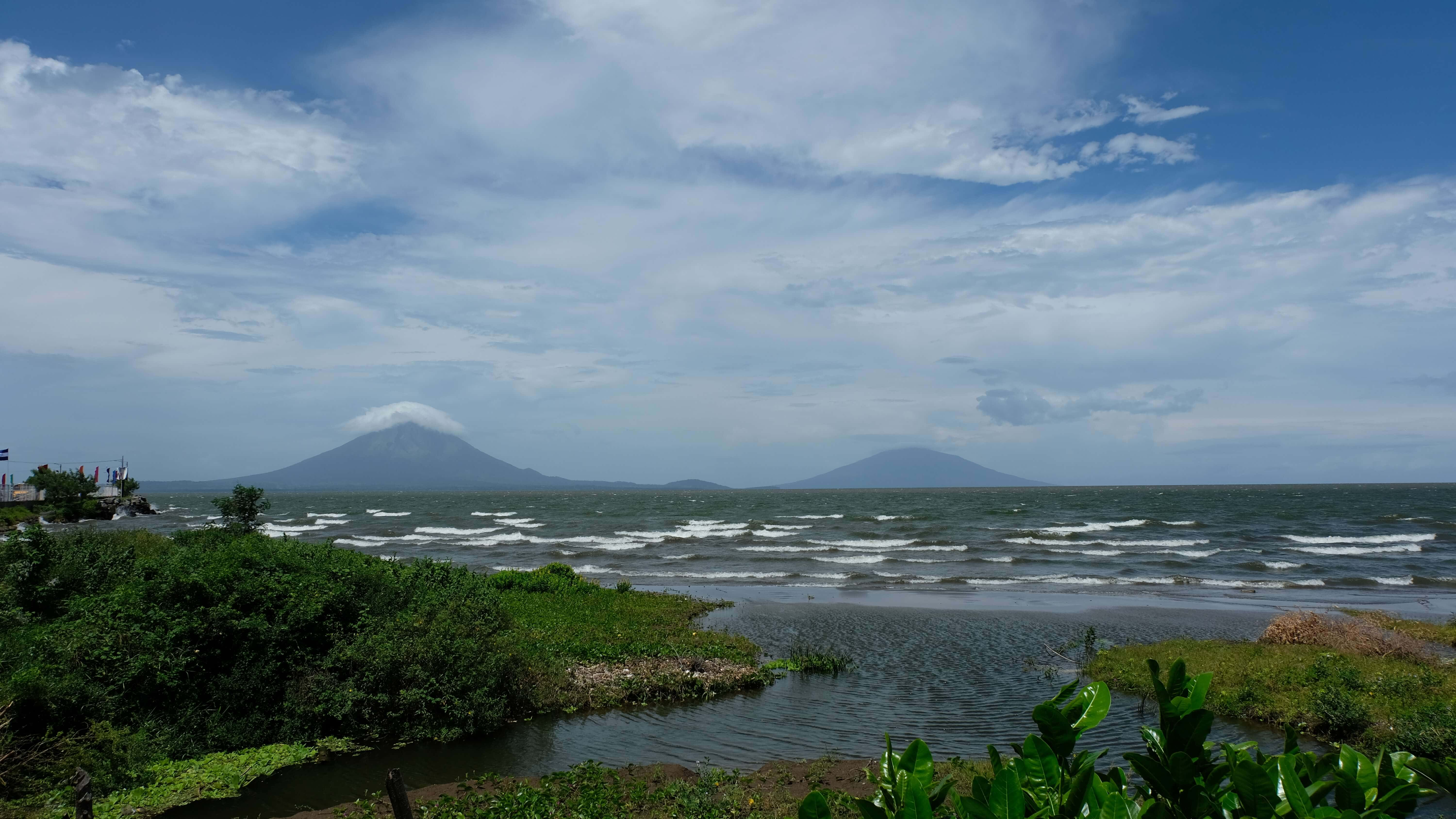 Things to do in Ometepe Island the view from before you get to the island