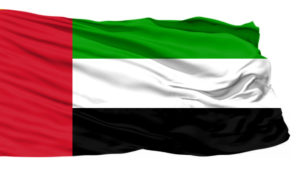 UAE flag flown by all of the emirates in the UAE (1)