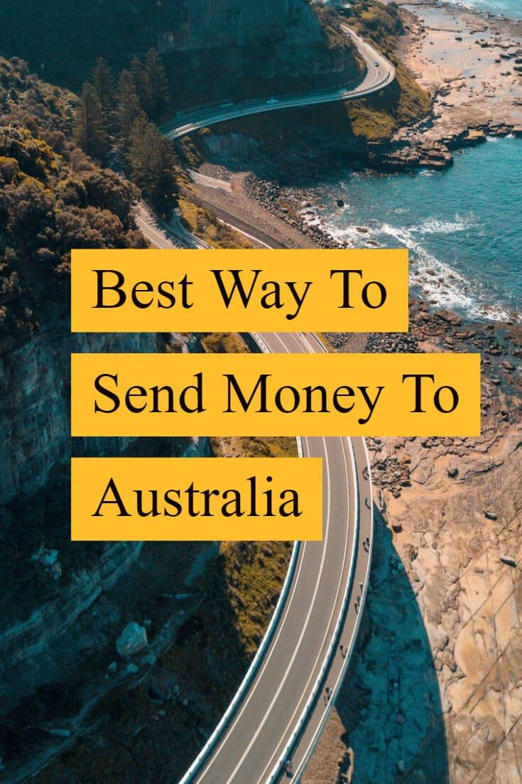 Best way to send money to Australia
