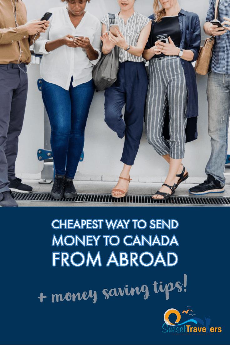 Canada money transfer guide