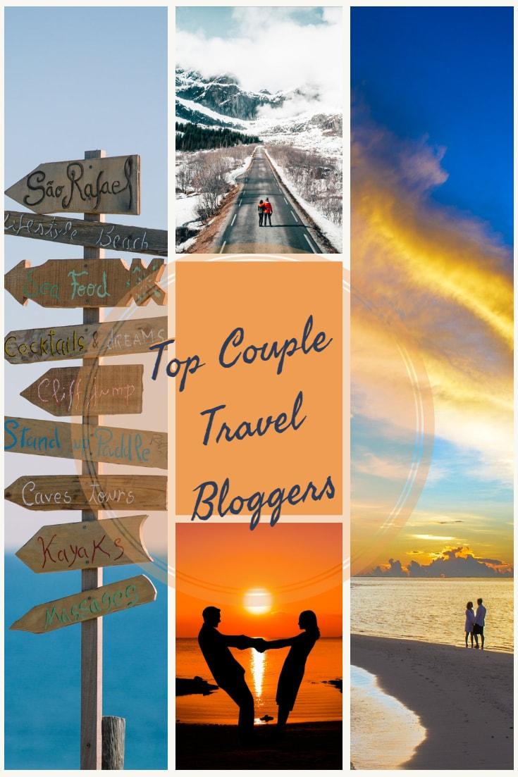 Our list of top couple travel bloggers to follow into 2019.