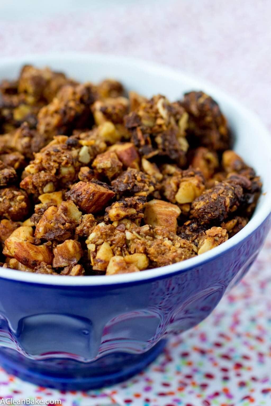 Grain free Granola travel snack (1)