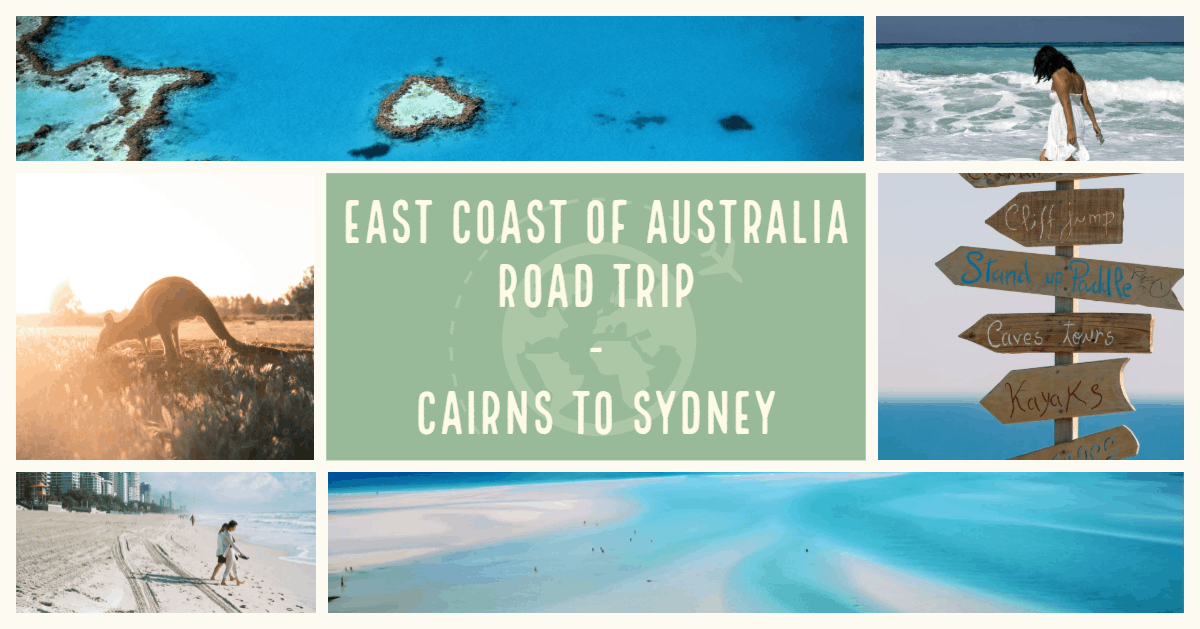 The Perfect East Coast Of Australia Itinerary. Australia East Coast must do, driving up the east coast of Australia, road map of the east coast of Australia, Australia east coast 4 week itinerary,