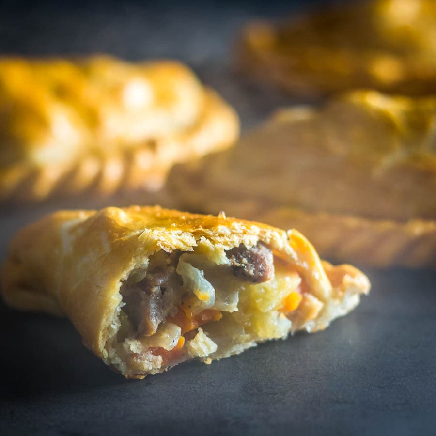 Traditional Cornish Pasty - A great travel snack
