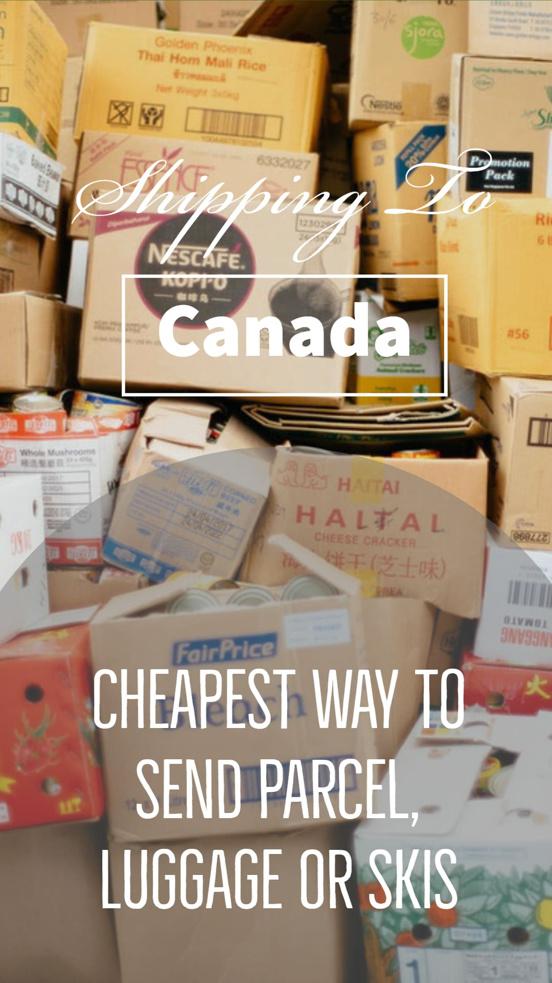 Shipping To Canada - Cheapest Way To Send Parcel To Canada