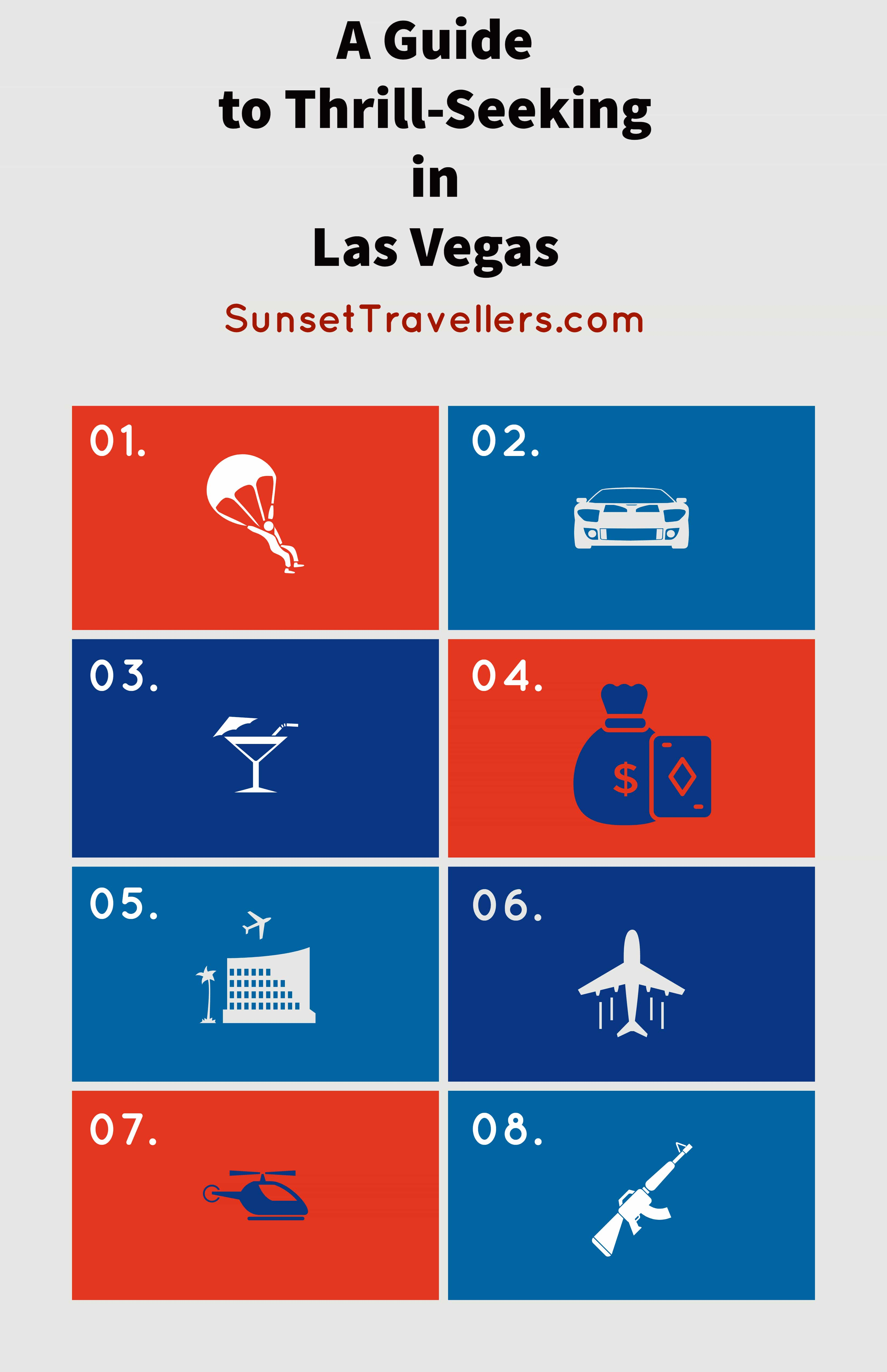A Guide To Thrill-Seeking In Las Vegas - An Adrelenine Packed Holiday