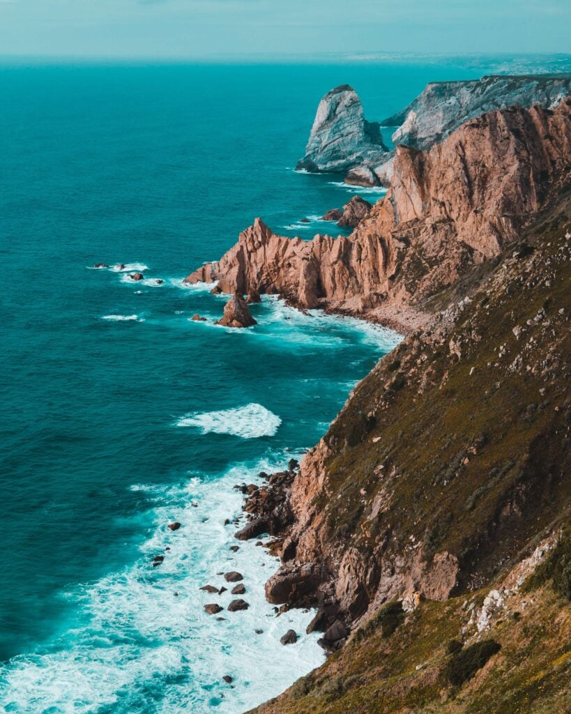 Cabo da Roca the most western point of the European continent.