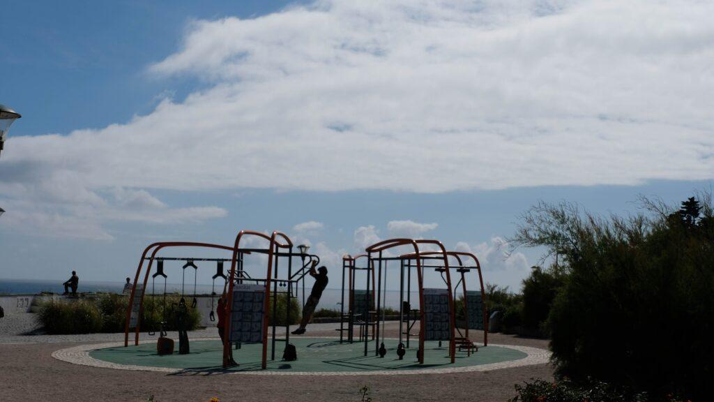 Lovely outdoor gym near boca do inferno
