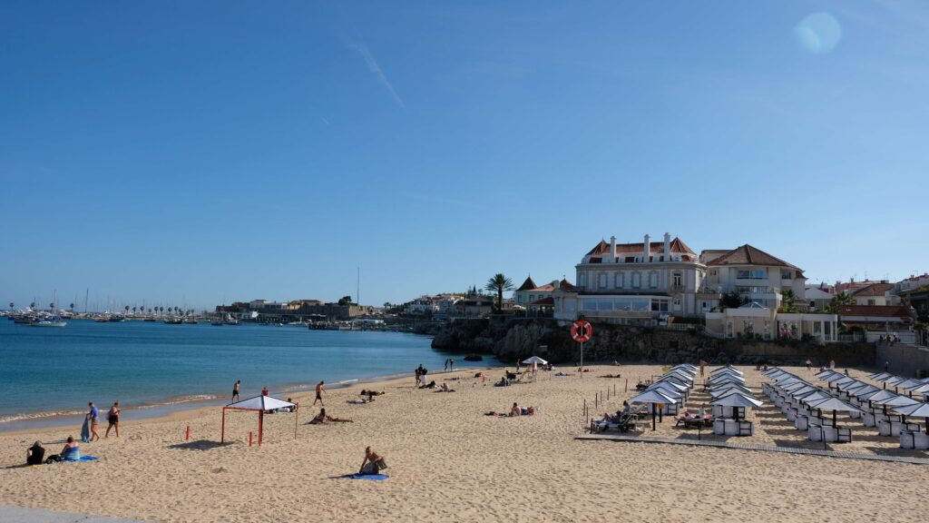 One of the best things to do in Cascais, stop at one of the many beaches!