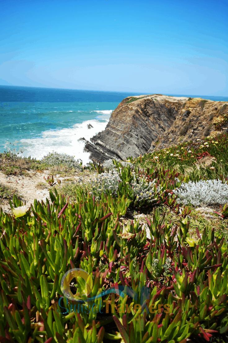 Sardao cape views of the Atlantic ocean