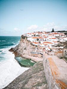 Azenhas do Mar village near Lisbon, Portugal.