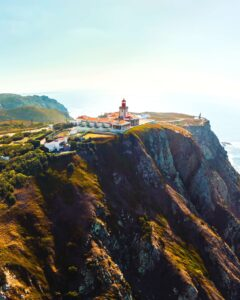 Cabo da Roca in Portugal near Cascais.