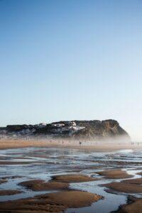 Peniche, Portugal.Surfing in Peniche.