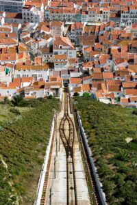 Explore the beautiful town of Nazara, Portugal.