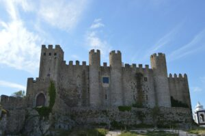 Obidos castle in Portugal.