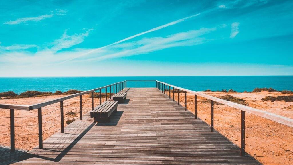 A walkway in SW Portugal