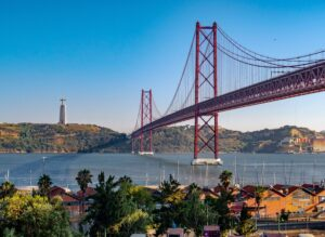 Explore Almada, across the Tagus river in Lisbon.