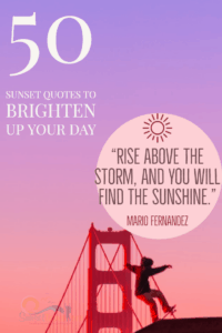50 Sunset Quotes That Will Signal Change Inside You